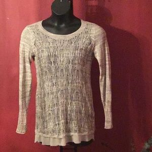 Simply Vera Vera Wang Knitted Tunic SizeS